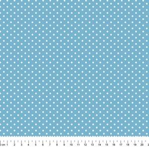 PRÉ-VENDA até 14/10 - Faturamento a partir de 30/10 - Tricoline Estampada Bolt Arinete Azul Claro