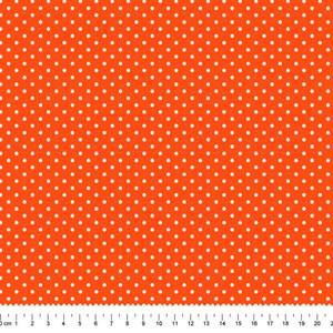 PRÉ-VENDA até 14/10 - Faturamento a partir de 30/10 - Tricoline Estampada Bolt Arinete Laranja