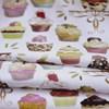 Tecido Estampado Digital Bolt Cupcake - 100% Algodão