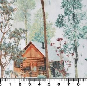 Tecido Estampado Digital Bolt Forest 002D - 100% Algodão
