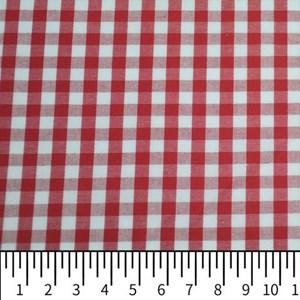 Tecido Fio Tinto 9XM Vermelho 1066 - 100% Algodão