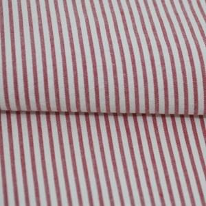 Tecido Fio Tinto Ana Ruga Listra Vermelho 1039 - 100% Algodão