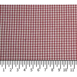 Tecido Fio Tinto Ana Ruga Xadrez Vermelho 1040 - 100% Algodão