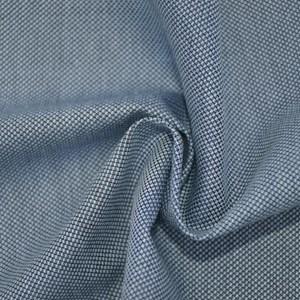 Tecido Fio tinto Bis Azul Mescla 1035 - 100% Algodão