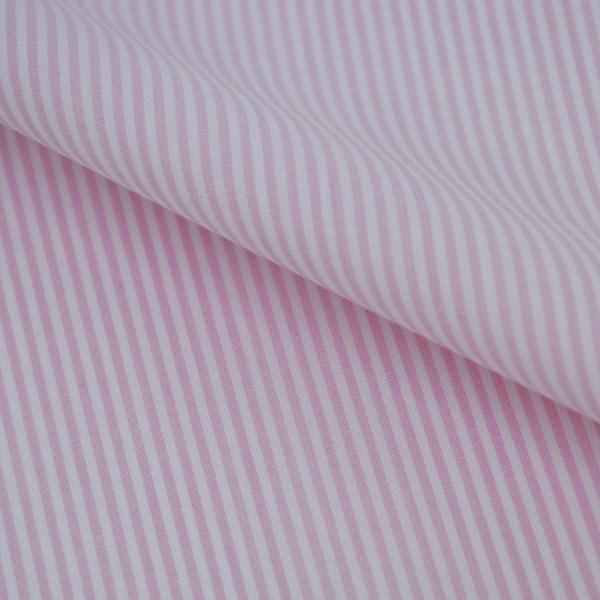 Tecido Fio Tinto D Juan Rosa Claro 1102 - 100% Algodão
