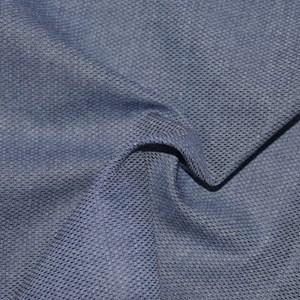 Tecido Fio tinto M 39 Azul Claro Mescla 1050 - 100% Algodão