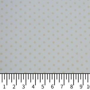 Tricoline Estampada Silky Arinete Branco com Bege