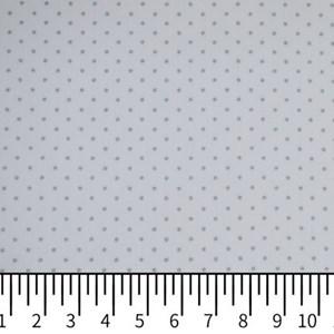 Tricoline Estampada Silky Confeti Branco com Cinza