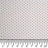 Tricoline Estampada Silky Confeti Branco com Vermelho