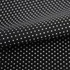 Tricoline Estampada Silky Confeti Preto com Branco