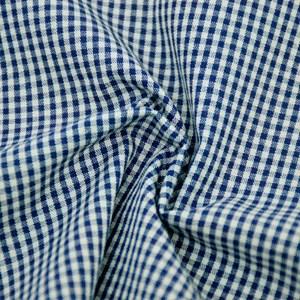 Tricoline Fio Tinto 1XM OLINDA Azul e Cinza