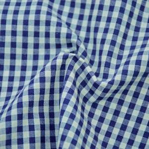 Tricoline Fio Tinto 8XM OLINDA Azul e Cinza