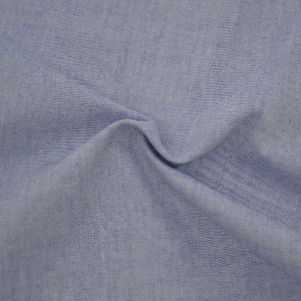 Tricoline Fio Tinto Chambray Azul Escuro