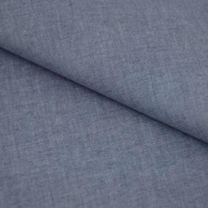 Tricoline Fio Tinto Fil a Fil Azul Jeans Claro
