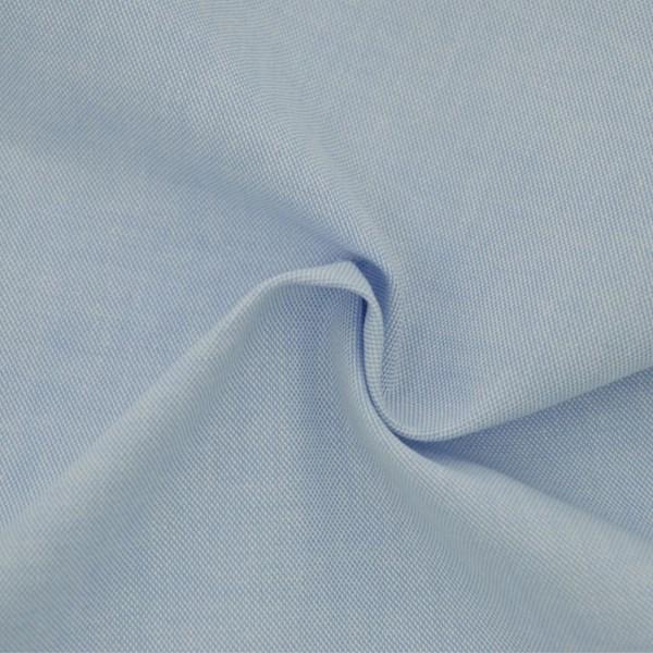 Tricoline Fio Tinto Oxford Azul Bebê