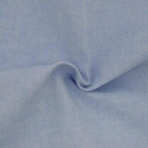 Tricoline Fio Tinto Oxford Azul Claro
