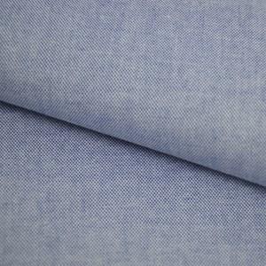 Tricoline Fio Tinto Oxford Azul Escuro Mescla