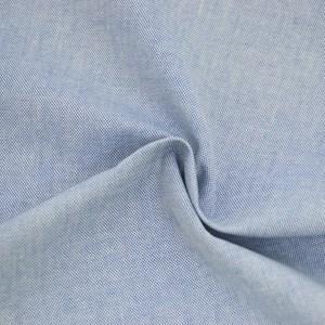 Tricoline Fio Tinto Oxford Azul Mescla