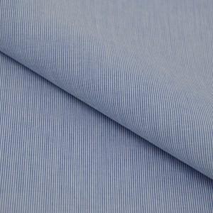 Tricoline Vichy Job L1 Azul - 75% algodão e 25% poliéster