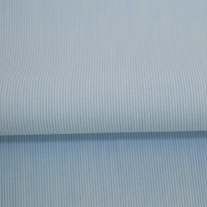 Tricoline Vichy Job L1 Azul Claro - 75% algodão e 25% poliéster