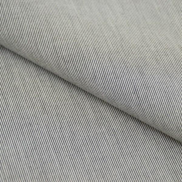 Tricoline Vichy Job L1 Preto - 75% algodão e 25% poliéster
