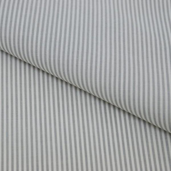 Tricoline Vichy Job L2 Cinza - 75% algodão e 25% poliéster