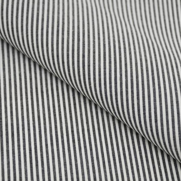 Tricoline Vichy Job L2 Preto - 75% algodão e 25% poliéster