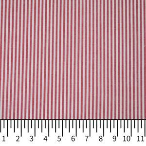 Tricoline Vichy Job L2 Vermelho - 75% algodão e 25% poliéster