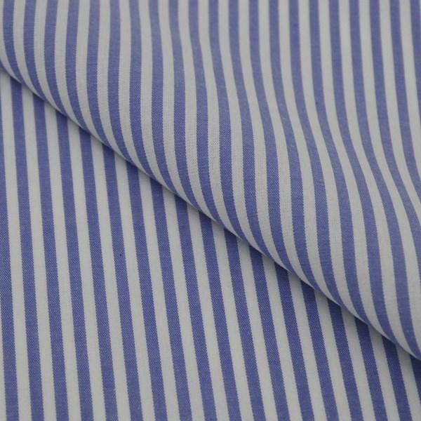 Tricoline Vichy Job L3 Azul  - 75% algodão e 25% poliéster