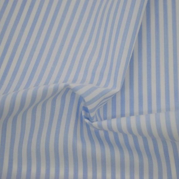 Tricoline Vichy Job L3 Azul Claro - 75% algodão e 25% poliéster