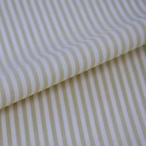 Tricoline Vichy Job L3 Bege - 75% algodão e 25% poliéster