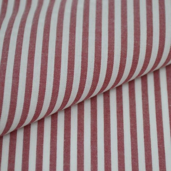 Tricoline Vichy Job L3 Vermelho - 75% algodão e 25% poliéster