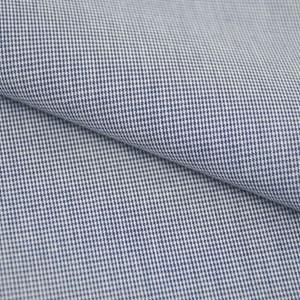 Tricoline Vichy Job X1 Azul Escuro  - 83% algodão e 17% poliéster