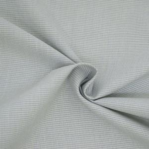 Tricoline Vichy Job X1 Cinza - 83% algodão e 17% poliéster