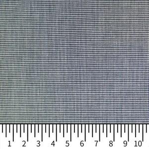 Tricoline Vichy Job X1 Preto - 83% algodão e 17% poliéster