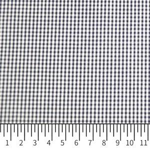 Tricoline Vichy Job X2 Azul Escuro  - 83% algodão e 17% poliéster