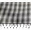 Tricoline Vichy Job X2 Preto - 83% algodão e 17% poliéster